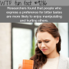 people who like the bitter taste wtf fun facts
