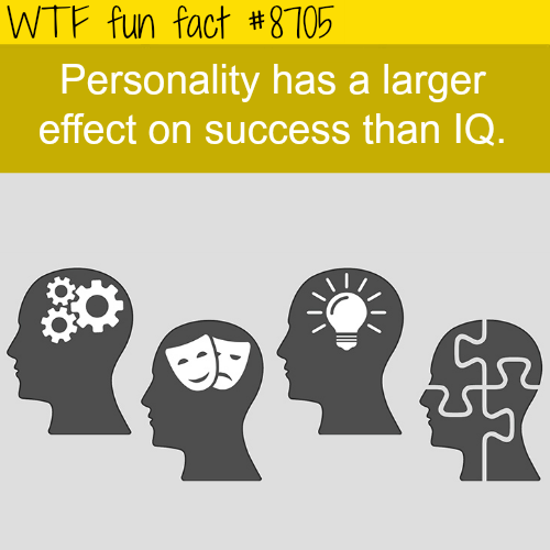 Personality - WTF fun facts
