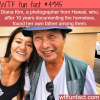 photographer who was documenting the homeless