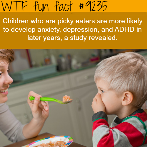 Picky Eaters - WTF fun fact