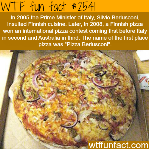 Pizza facts - WTF fun facts