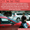 pizza man saves the life of a customer wtf fun