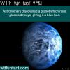 planet that rain glass