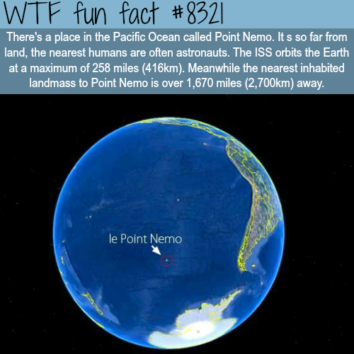 Point Nemo - WTF fun facts