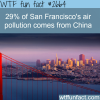 pollution in san francisco come from china