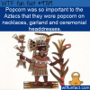 popcorn was so important to the aztecs that they