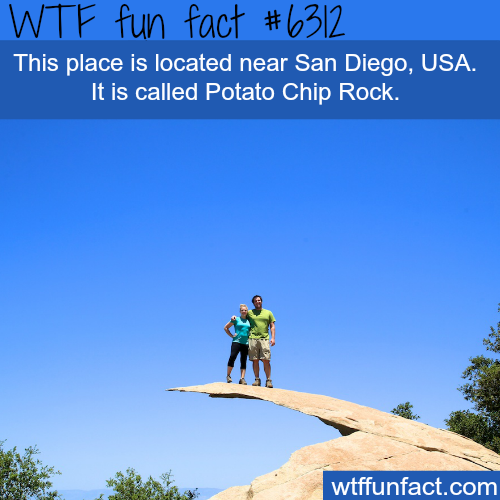 Potato Chip Rock in San Diego - WTF fun facts
