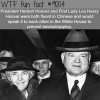 president herbert hoover wtf fun facts
