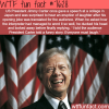 president jimmy carter tells a joke to japanese