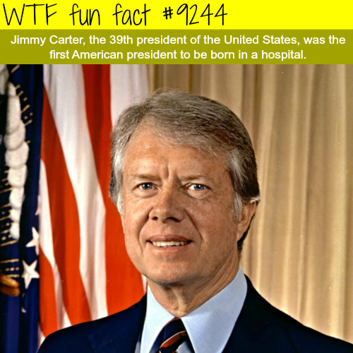 President Jimmy Carter - WTF fun fact