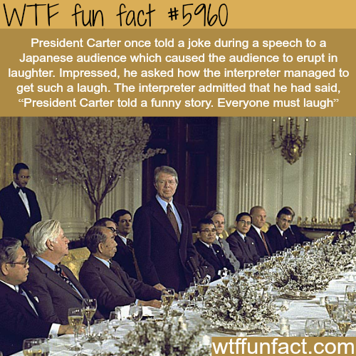 President Jimmy Carter - WTF fun facts