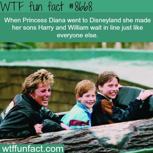 Princess Diana - WTF fun facts