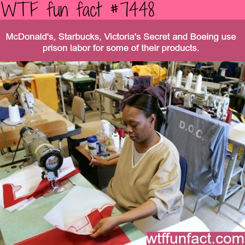 Prison labor - Facts