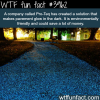 pro teq created a glowing pavement