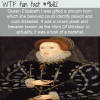 queen elizabeth i was gifted a unicorn horn which