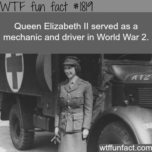 Queen Elizabeth ll in world war 2 - WTF fun facts