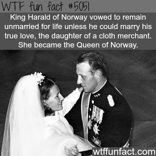Queen of Norway - WTF fun facts