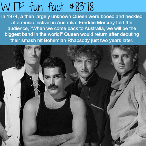 Queen - WTF fun facts