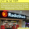radio shack facts wtf fun facts