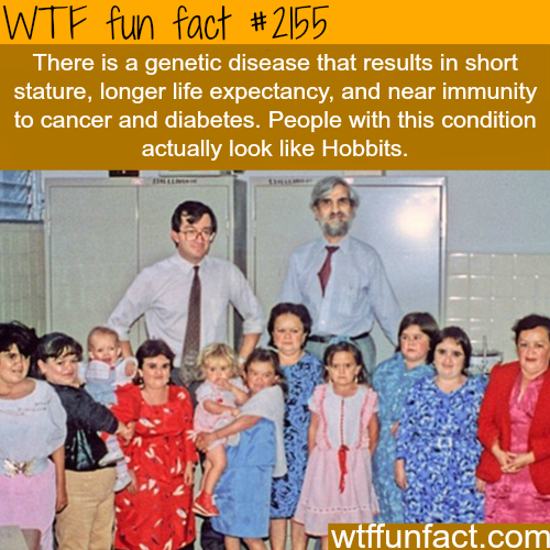 Rare genetic disease results in immunity to cancer -WTF fun facts