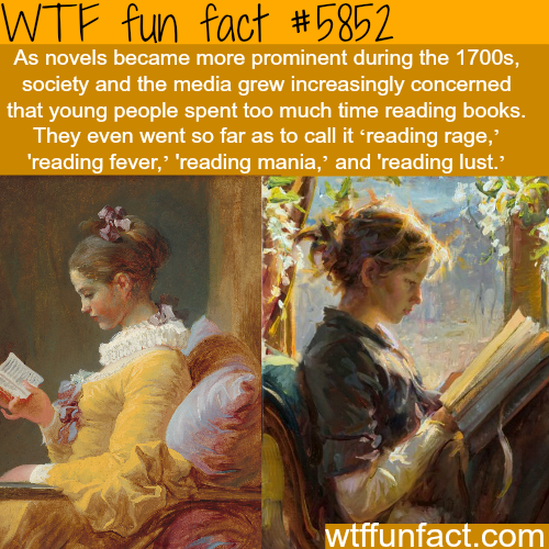 Reading rage - WTF fun facts