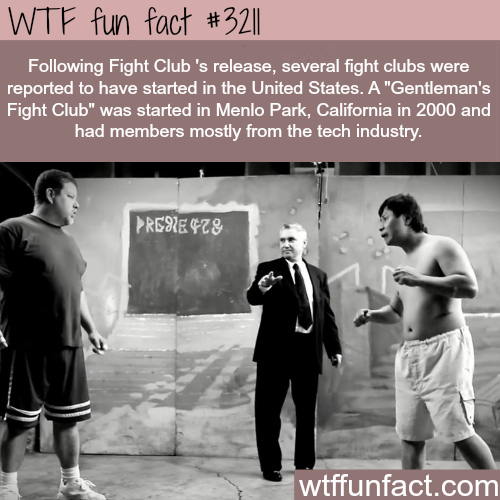 Real fight clubs in the United States -WTF fun facts