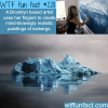 realistic paintings of icebergs