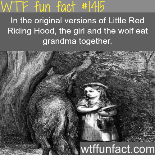 The original Red Riding Hood.