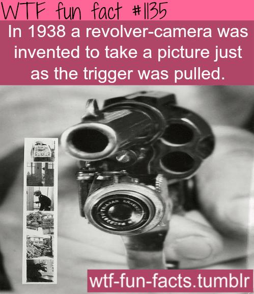 1938 revolver camera
