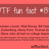 rich and famous people who don t have college degree