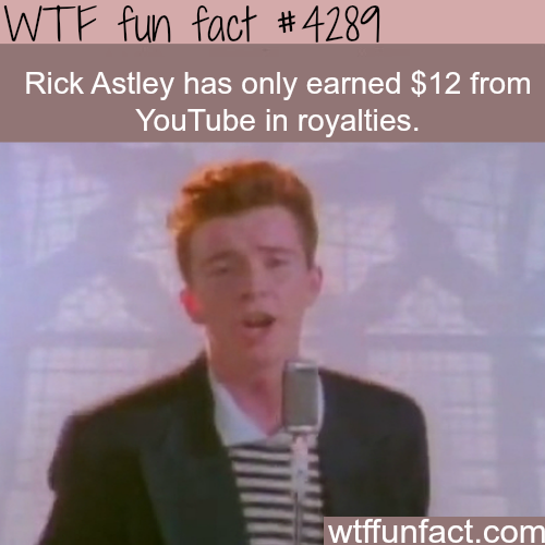 Rick Astley - Never Gonna Give You Up -  WTF fun facts
