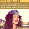rihanna songs wtf fun facts