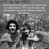 robin williams as a mime in central park wtf fun