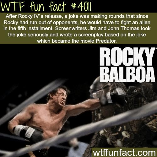 Rocky vs Aliens - WTF fun facts