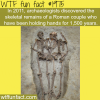 roman couple holding hands for 1500 years