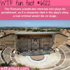 roman theater wtf fun facts