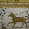 romans loved their dogs and made graves for them