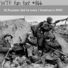 russian casualties in ww2 wtf fun fact