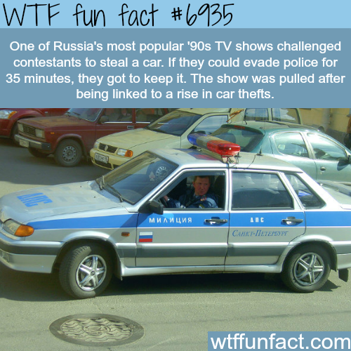 "Russian show ""The Intercept"" - WTF fun fact"