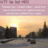 russias closed cities wtf fun fact