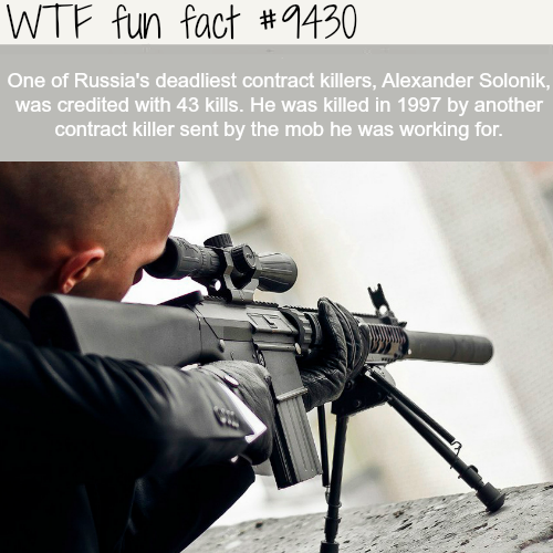 Russia's deadliest contract killers - WTF fun fact