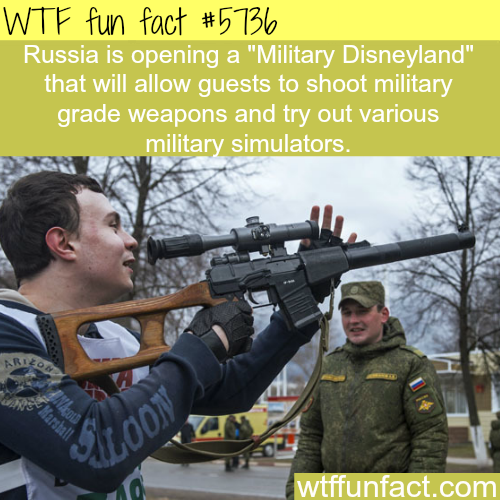 "Russia's ""Military Disneyland"" - WTF fun facts"