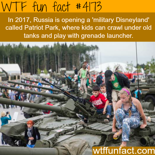 Russia's 'military Disneyland' -  WTF fun facts