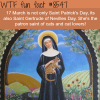 saint gertrude of nevilles day wtf fun facts
