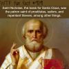 saint nicholas wtf fun fact