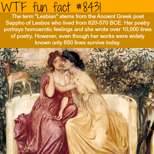 Sappho of Lesbos - WTF fun facts