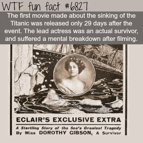 Saved from the Titanic - WTF fun fact