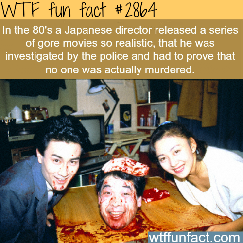 scary Japanese movies: Guinea Pig (film series) -WTF fun facts