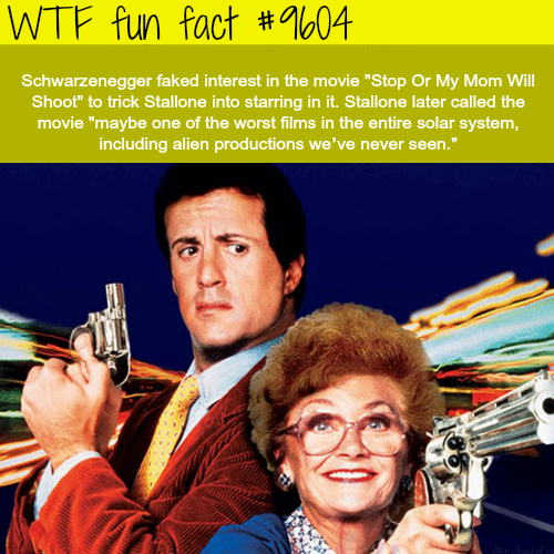 Schwarzenegger is the ultimate troll - WTF fun fact
