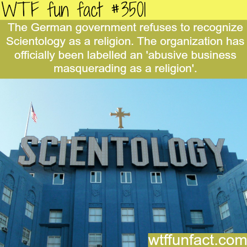scientology in germany - WTF Facts